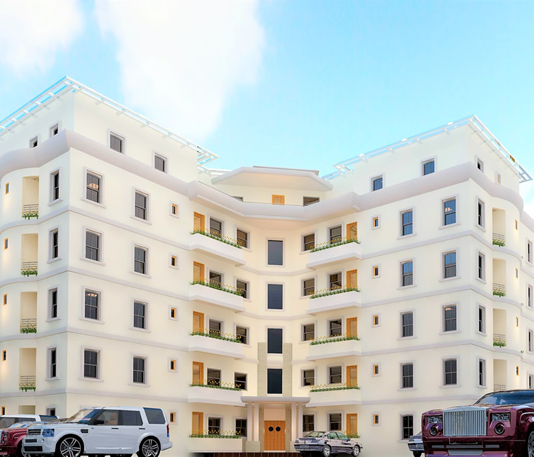 luxury real estate apartments in banana island